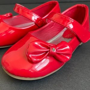 Dream Paris — Red Patent Leather Mary Jane Shoes